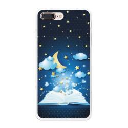 Funda Gel Tpu para Iphone 7 Plus / 8 Plus Diseño Libro-Cuentos Dibujos
