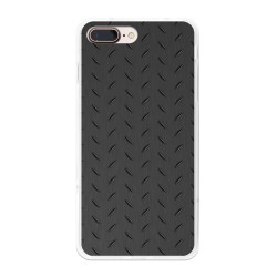 Funda Gel Tpu para Iphone 7 Plus / 8 Plus Diseño Metal Dibujos