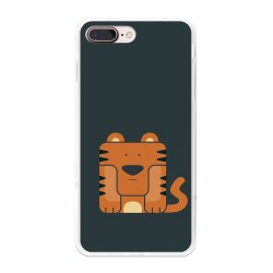 Funda Gel Tpu para Iphone 7 Plus / 8 Plus Diseño Tigre Dibujos