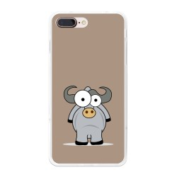 Funda Gel Tpu para Iphone 7 Plus / 8 Plus Diseño Toro Dibujos