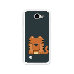Funda Gel Tpu para Lg K4 Diseño Tigre Dibujos