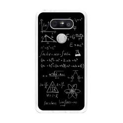 Funda Gel Tpu para Lg G5 Diseño Formulas Dibujos
