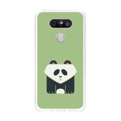 Funda Gel Tpu para Lg G5 Diseño Panda Dibujos