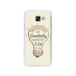 Funda Gel Tpu para Samsung Galaxy A3 (2016) Diseño Creativity Dibujos