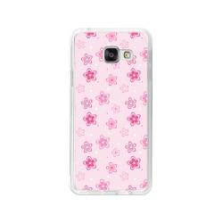 Funda Gel Tpu para Samsung Galaxy A3 (2016) Diseño Flores Dibujos