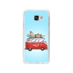 Funda Gel Tpu para Samsung Galaxy A3 (2016) Diseño Furgoneta Dibujos