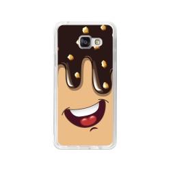 Funda Gel Tpu para Samsung Galaxy A3 (2016) Diseño Helado Chocolate Dibujos