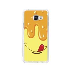 Funda Gel Tpu para Samsung Galaxy A3 (2016) Diseño Helado Vainilla Dibujos