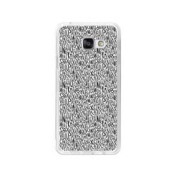 Funda Gel Tpu para Samsung Galaxy A3 (2016) Diseño Letras Dibujos