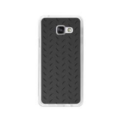 Funda Gel Tpu para Samsung Galaxy A3 (2016) Diseño Metal Dibujos