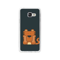 Funda Gel Tpu para Samsung Galaxy A3 (2016) Diseño Tigre Dibujos