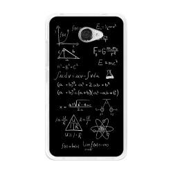 Funda Gel Tpu para Vodafone Smart Ultra 7 Diseño Formulas Dibujos