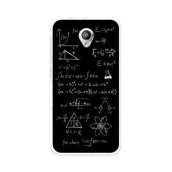 Funda Gel Tpu para Vodafone Smart Prime 7 Diseño Formulas Dibujos