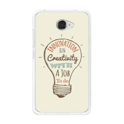 Funda Gel Tpu para Vodafone Smart Ultra 7 Diseño Creativity Dibujos