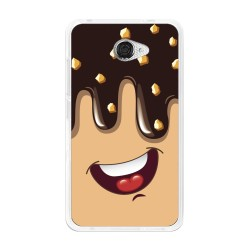 Funda Gel Tpu para Vodafone Smart Ultra 7 Diseño Helado Chocolate Dibujos