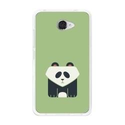 Funda Gel Tpu para Vodafone Smart Ultra 7 Diseño Panda Dibujos