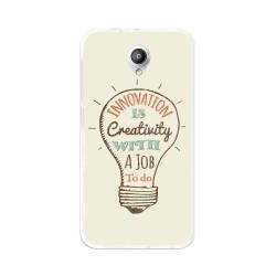 Funda Gel Tpu para Vodafone Smart Prime 7 Diseño Creativity Dibujos