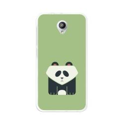 Funda Gel Tpu para Vodafone Smart Prime 7 Diseño Panda Dibujos