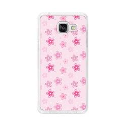 Funda Gel Tpu para Samsung Galaxy A5 (2016) Diseño Flores Dibujos