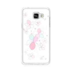 Funda Gel Tpu para Samsung Galaxy A5 (2016) Diseño Flores-Minimal Dibujos