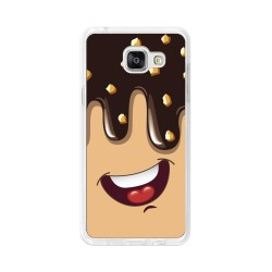 Funda Gel Tpu para Samsung Galaxy A5 (2016) Diseño Helado Chocolate Dibujos