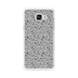 Funda Gel Tpu para Samsung Galaxy A5 (2016) Diseño Letras Dibujos