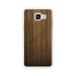 Funda Gel Tpu para Samsung Galaxy A5 (2016) Diseño Madera Dibujos