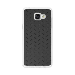 Funda Gel Tpu para Samsung Galaxy A5 (2016) Diseño Metal Dibujos