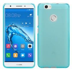 Funda Gel Tpu para Huawei Nova Color Azul
