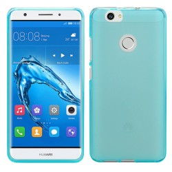 Funda Gel Tpu para Huawei Nova Color Azul