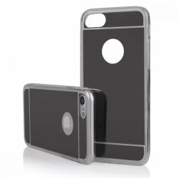 Funda Gel Tpu Efecto Espejo Gris para Iphone 7 /  8