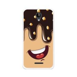Funda Gel Tpu para Zte Blade A310 Diseño Helado Chocolate Dibujos