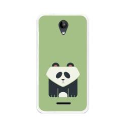 Funda Gel Tpu para Zte Blade A310 Diseño Panda Dibujos