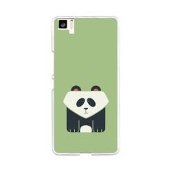 Funda Gel Tpu para Bq Aquaris M5 Diseño Panda Dibujos