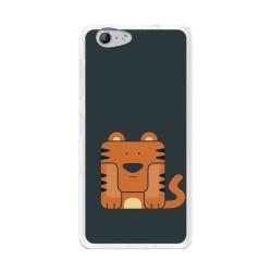 Funda Gel Tpu para Orange Neva 80 / Zte Blade V770 Diseño Tigre Dibujos