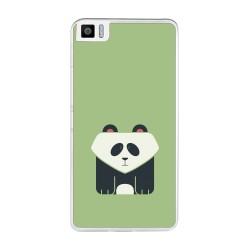 Funda Gel Tpu para Bq Aquaris M2017 / M5.5 Diseño Panda Dibujos