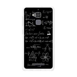 Funda Gel Tpu para Asus Zenfone 3 Max Zc520Tl Diseño Formulas Dibujos