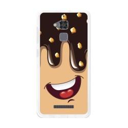 Funda Gel Tpu para Asus Zenfone 3 Max Zc520Tl Diseño Helado Chocolate Dibujos