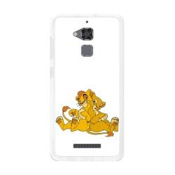 Funda Gel Tpu para Asus Zenfone 3 Max Zc520Tl Diseño Leones Dibujos