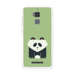 Funda Gel Tpu para Asus Zenfone 3 Max Zc520Tl Diseño Panda Dibujos