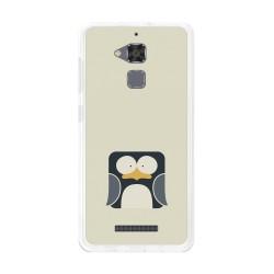 Funda Gel Tpu para Asus Zenfone 3 Max Zc520Tl Diseño Pingüino Dibujos