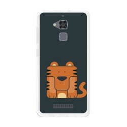 Funda Gel Tpu para Asus Zenfone 3 Max Zc520Tl Diseño Tigre Dibujos