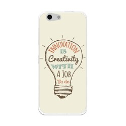 Funda Gel Tpu para Orange Dive 71 / Zte Blade A506 Diseño Creativity Dibujos