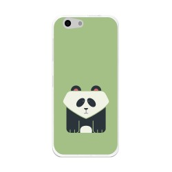 Funda Gel Tpu para Orange Dive 71 / Zte Blade A506 Diseño Panda Dibujos