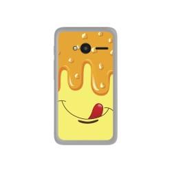 "Funda Gel Tpu para Orange Rise 31 / Alcatel Pixi 4 (4"") Diseño Helado Vainilla Dibujos"