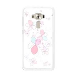 "Funda Gel Tpu para Asus Zenfone 3 5.2"" Ze520Kl Diseño Flores-Minimal Dibujos"
