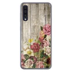 Funda Gel Tpu para Samsung Galaxy A50 / A50s / A30s diseño Madera 08 Dibujos
