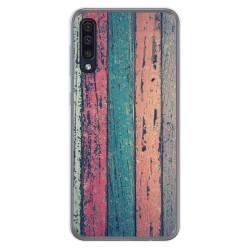 Funda Gel Tpu para Samsung Galaxy A50 / A50s / A30s diseño Madera 10 Dibujos