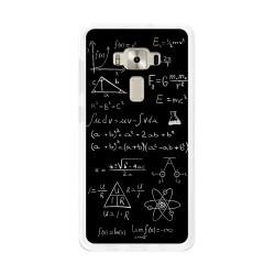 """Funda Gel Tpu para Asus Zenfone 3 5.2"""" Ze520Kl Diseño Formulas Dibujos"""