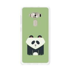 """Funda Gel Tpu para Asus Zenfone 3 5.2"""" Ze520Kl Diseño Panda Dibujos"""